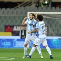 Fiorentina-Lazio 3-4, biancocelesti sulle ali di Luis Alberto