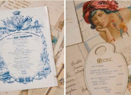 La storia d'Europa raccontata dai menu: la straordinaria collezione del conte Livio Cerini