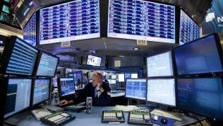 Borse europee miste, Wall Street in calo