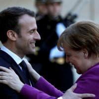 La nuova Europa, il dramma Siria, che fare con Trump e Putin: Macron incontra
