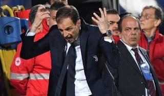 Juventus, il migliore alleato è la rabbia. Allegri vuole chiudere il discorso scudetto