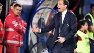 Juve-Napoli, conto alla rovesciaLa rabbia è l'alleata di AllegriSarri e l'entusiasmo ritrovato