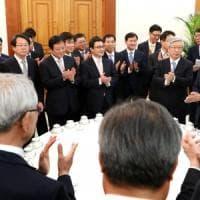 """Seul: """"La Corea del Nord ha accettato la sua completa denuclearizzazione"""""""
