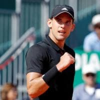 Tennis, Montecarlo: Thiem stoppa Djokovic negli ottavi. avanti Nadal, Seppi ko