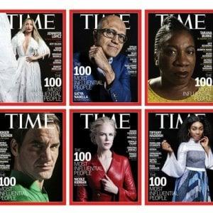 Time: i 100 più influenti dell'anno, da Tarana Burke all'italiana Marica Branchesi
