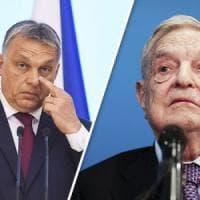 """Ungheria, Soros chiude uffici della fondazione a Budapest. Orban: """"Capirete che non..."""