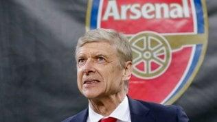 Addio storico in Premier League:Wenger lascia l'Arsenaldopo 22 anni in panchina