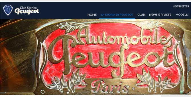 Il Club Storico Peugeot diventa storico: compie 20 anni