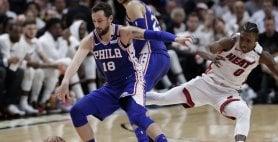 Belinelli spinge Philadelphia Warriors e Pelicans sul 3-0
