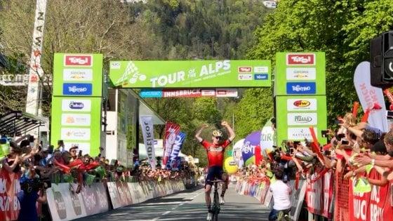 Ciclismo, Tour of the Alps: Pinot controlla e trionfa. Ultima tappa a Padun