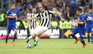 """Juventus, Chiellini: """"La tattica? Contro il Napoli conterà la testa"""""""