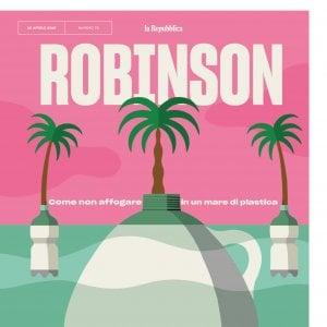 """Robinson: """"Istruzioni per non affogare nel nostro mare di plastica"""""""