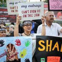 """India, in piazza per la pena di morte: """"Basta stupri su minori"""""""