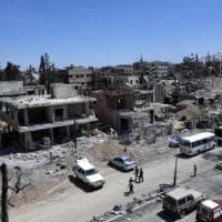 Siria, ispettori dell'Opac hanno raccolto campioni a Douma