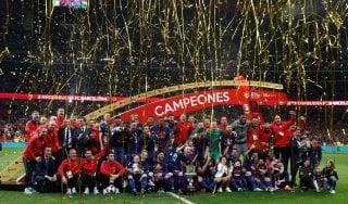 Spagna, Coppa del Re: 'manita' al Siviglia, trionfo del Barcellona