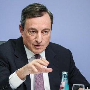 Il governatore Bce, Mario Draghi