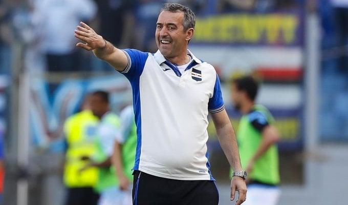 """Sampdoria, Giampaolo: """"Ko che non cambia nulla, siamo ancora in corsa"""""""