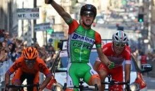 Ciclismo, Giro dell'Appennino: fuga vincente di Ciccone. Battuti Antunes e Masnada
