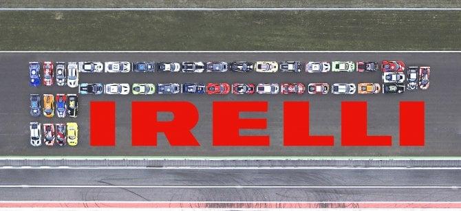 """E con più di quaranta GT3 Pirelli disegna una """"P lunga"""" di 80 metri"""