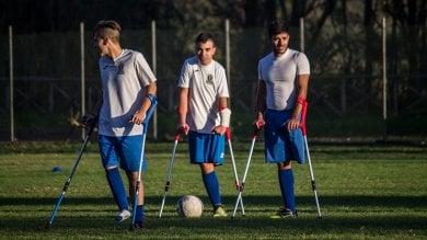 Il calcio amputati arriva in Europa all'Italia la terza edizione dello Junior Camp