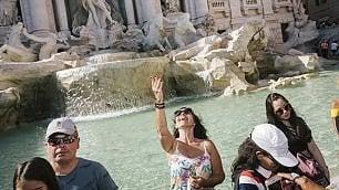 Seguendo le monetine della fontana di Trevi