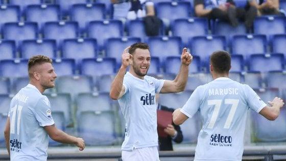 Lazio, de Vrij e un addio a suon di gol. In Europa nessuno come lui