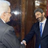 """Mandato a Fico per governo Pd-M5s. Mattarella: """"Ho atteso, ma novità Lega-5 Stelle non..."""