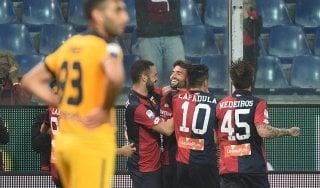 Genoa-Verona 3-1: veneti sempre più vicini alla serie B