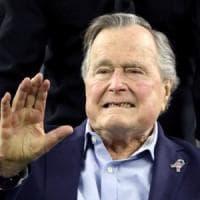Stati Uniti, l'ex presidente George H.W.Bush ricoverato in terapia intensiva