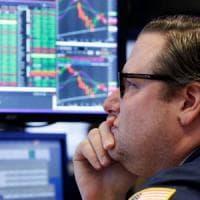 Borse contrastate, rendimenti record per i bond decennali Usa