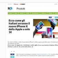 ''iPhone X a 1 euro'', attenti alle truffa: falsi articoli usati per rubare