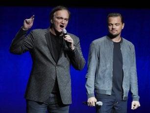 """Taranino e il film su Manson: """"DiCaprio e Pitt come Newman e Redford"""""""
