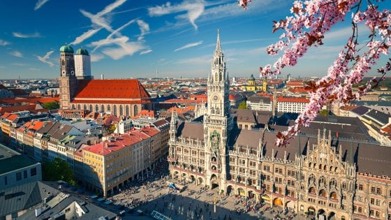 Monaco di Baviera da vivere in primavera