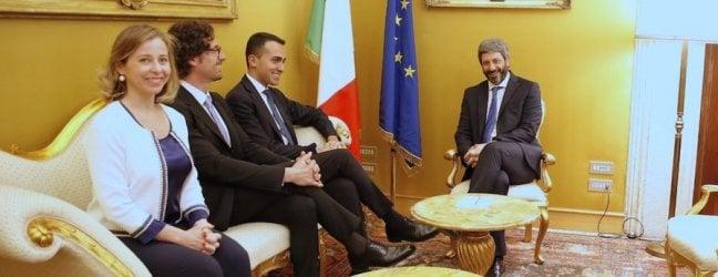 """Martina-Di Maio, prove di dialogo videoM5S: """"Con Salvini è finita"""". Il Pd si divide"""