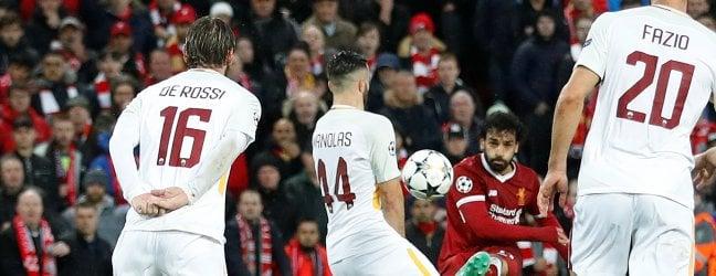 Incubo Liverpool, ma la Roma spera ancora. Ad Anfield finisce 5-2 foto Le pagelle