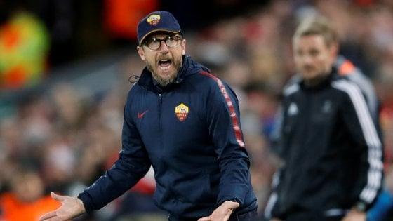 """Roma, Di Francesco: """"Dobbiamo crederci, nulla è impossibile"""""""