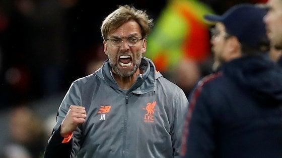 """Liverpool, Klopp: """"Andremo a Roma per vincere"""""""