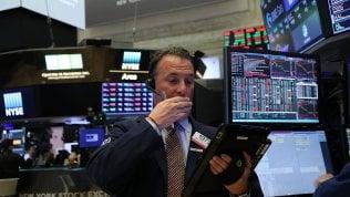 Borse europee in affanno, in calo anche Wall Street