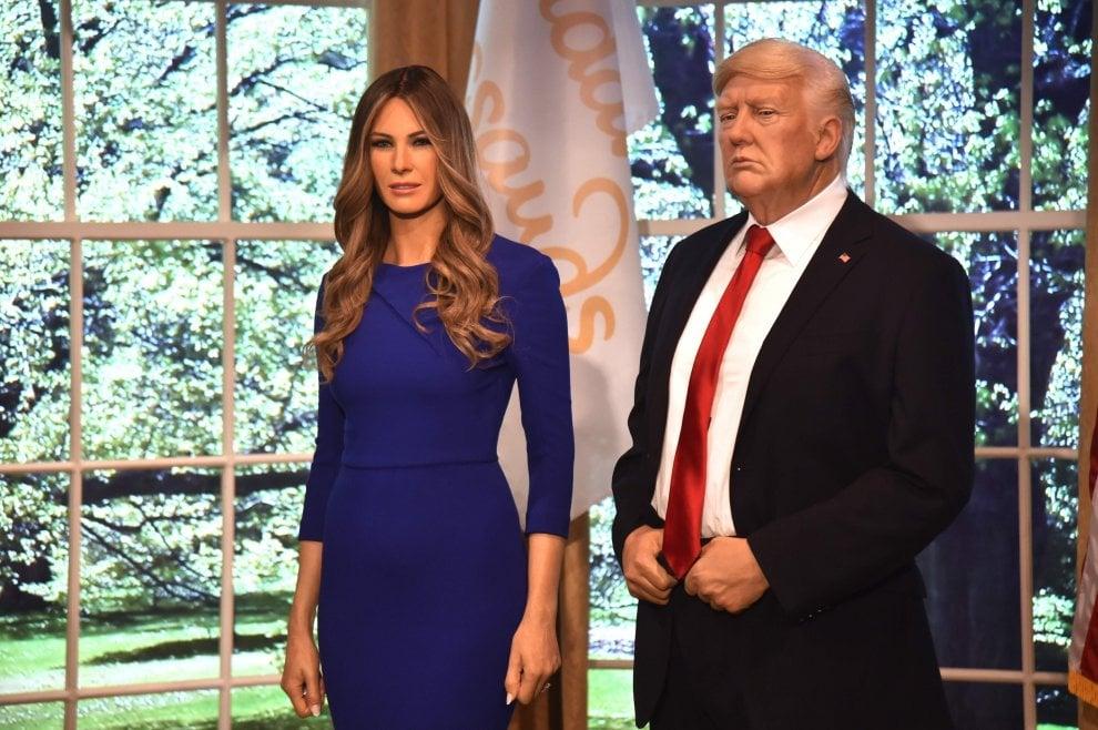 Stati Uniti, Melania Trump di cera nel museo Madame Tussauds