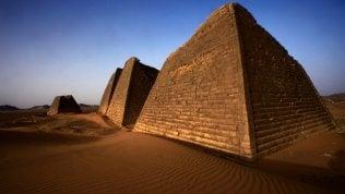 Il sito archeologico di  Al-Bajrawiya, in Sudan