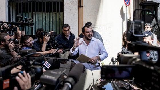 Salvini, io lasciare Berlusconi? Non accadrà