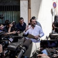"""Dialogo M5s-Pd, Salvini: """"Italiani ostaggio dei litigi Pd e della voglia di potere M5s"""""""