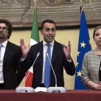 """Fico: """"Dialogo avviato"""". E Di Maio apre: """"Sforzo per un accordo di governo al rialzo con..."""