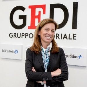 Laura Cioli, nuovo ad del gruppo Gedi