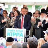 Antisemitismo, l'impegno del ministro degli Esteri e del sindaco di Berlino: