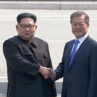 Coree, il vertice di pace fra Kim e Moon: