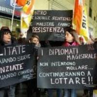 Sciopero della fame per i diplomati magistrali: oltre settemila rischiano il posto
