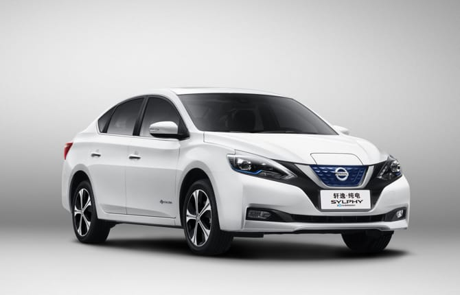Nissan Sylphy, in Cina ma senza inquinare