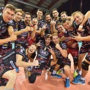 Volley, finale scudetto: Perugia piega Civitanova in gara 3, il titolo è a un passo