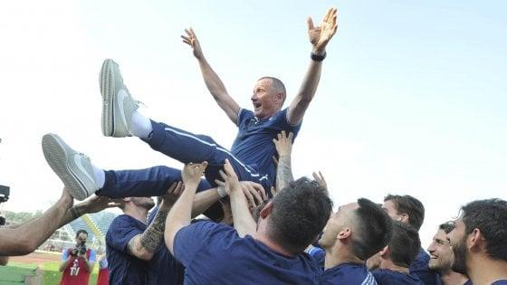 Serie B: Empoli promosso, il trionfo di Andreazzoli